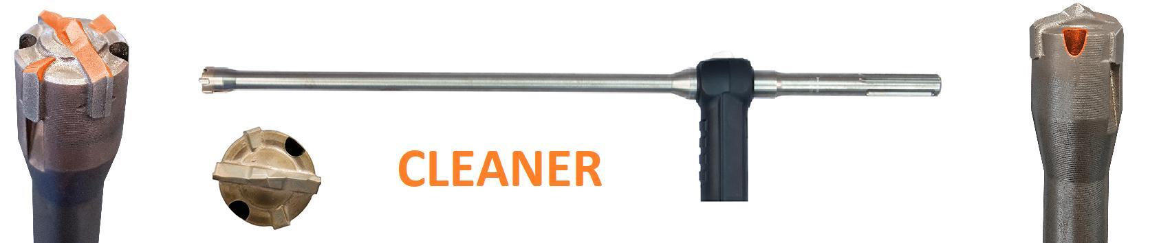 CLEANER Príklepový vrták SDS-Max