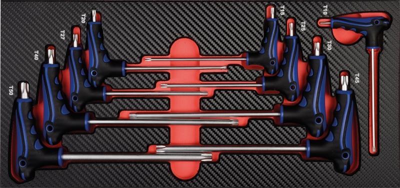 T kľúče TORX T10-15-20-25-27-30-40-45-50