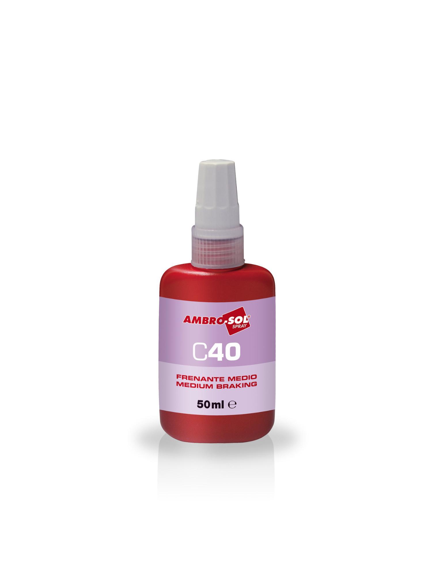 Poistenie závitov C40 MEDIUM - stredné 50 ml