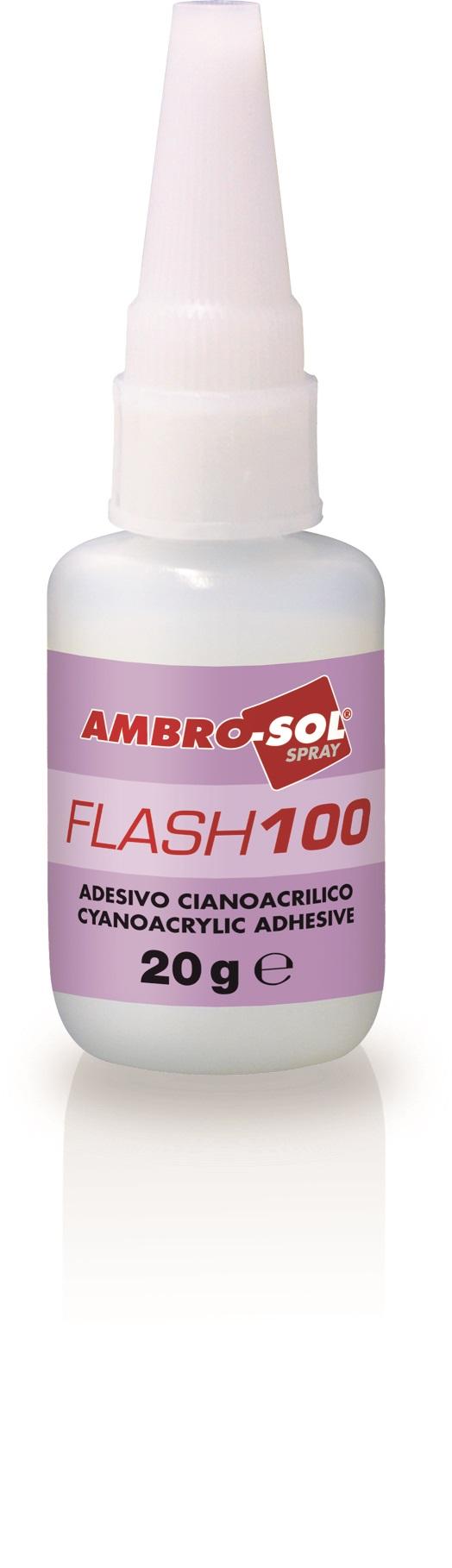 Sekundové lepidlo FLASH 100 20 gr