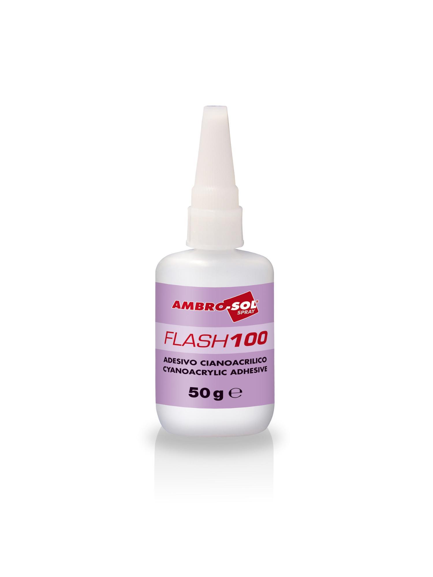 Sekundové lepidlo FLASH 100 50 gr