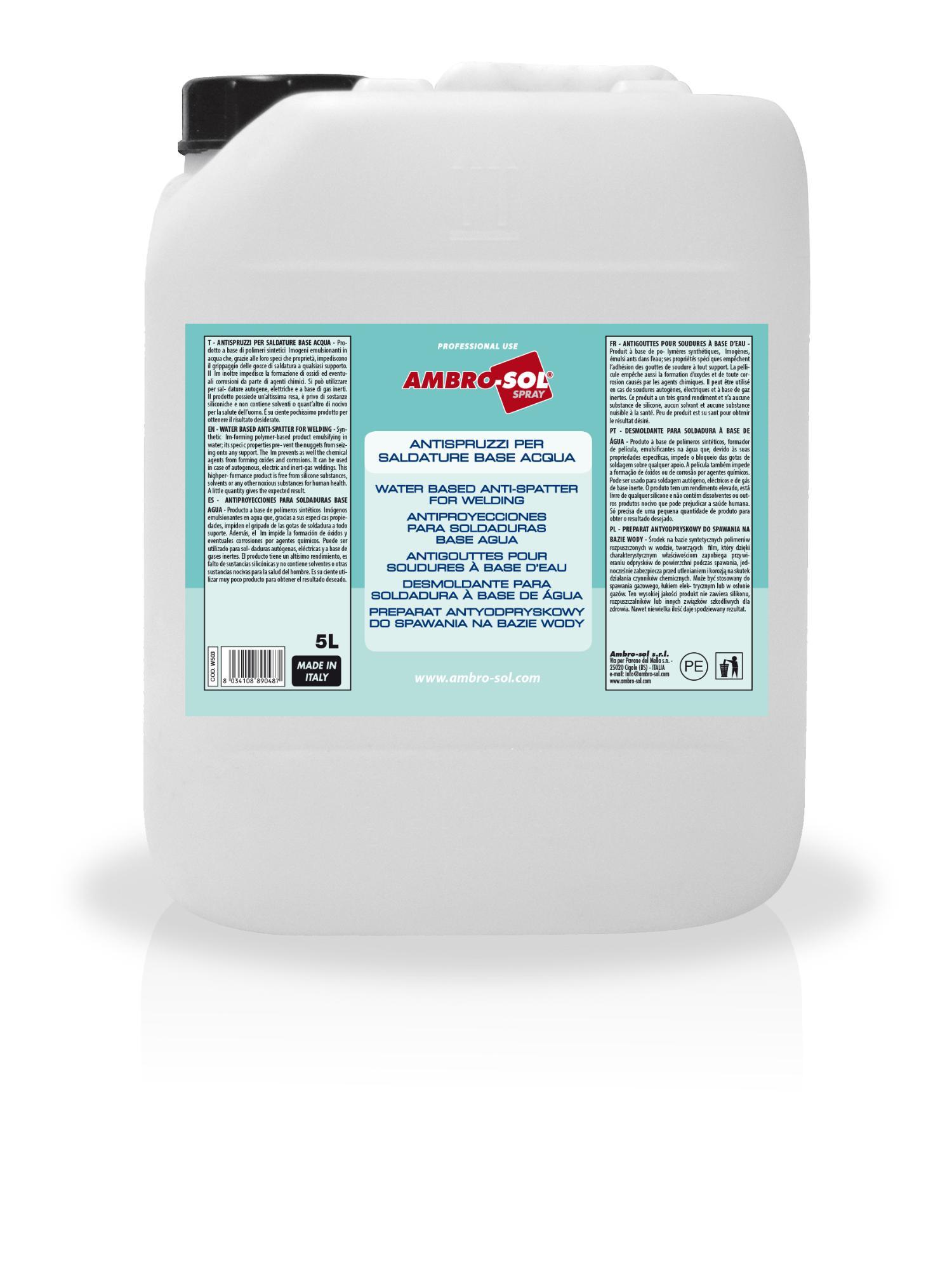 Zvárací prípravok na báze vody 5000 ml