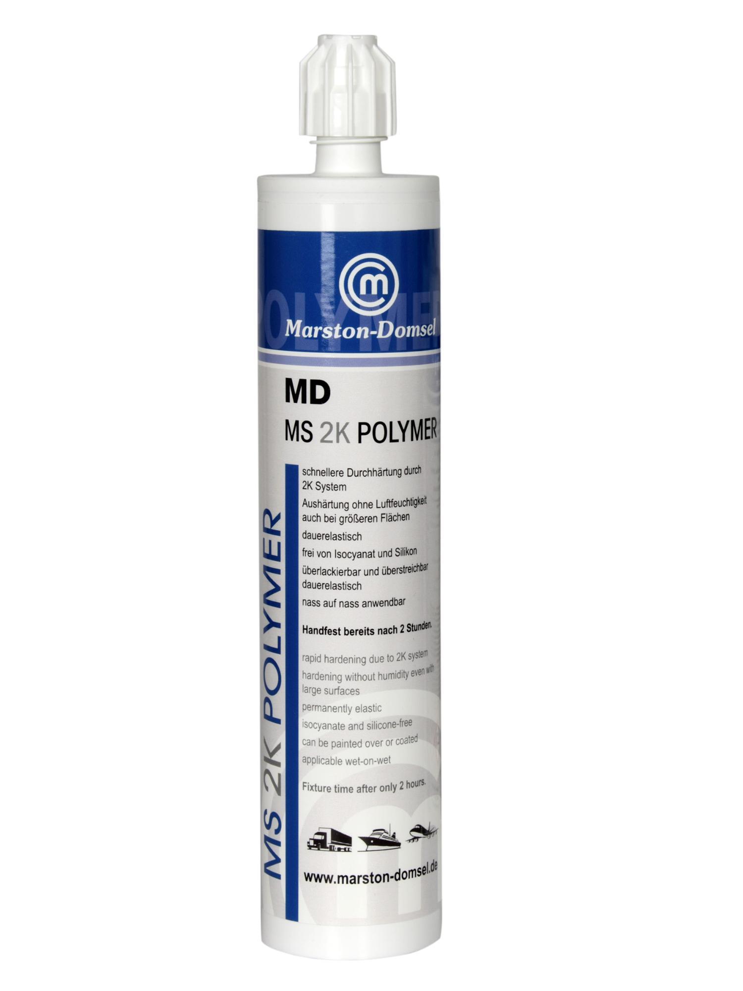 2K MS Polymer šedý kartuša 300g