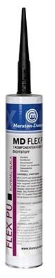 MD-FLEX-PU čierny kartuša 360g