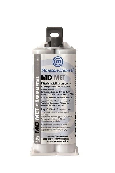 MET - tekutý kov 1:1 dvojitá striekačka 50g