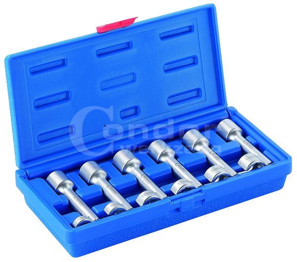 Kľúč očko-očko otvorné, 6-dielna., 12-19 mm