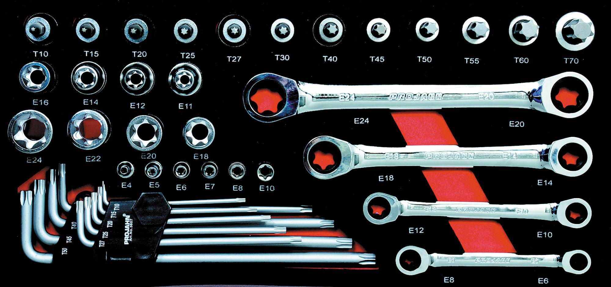 TORX sada m.GearTech kľúčn 39 diel.