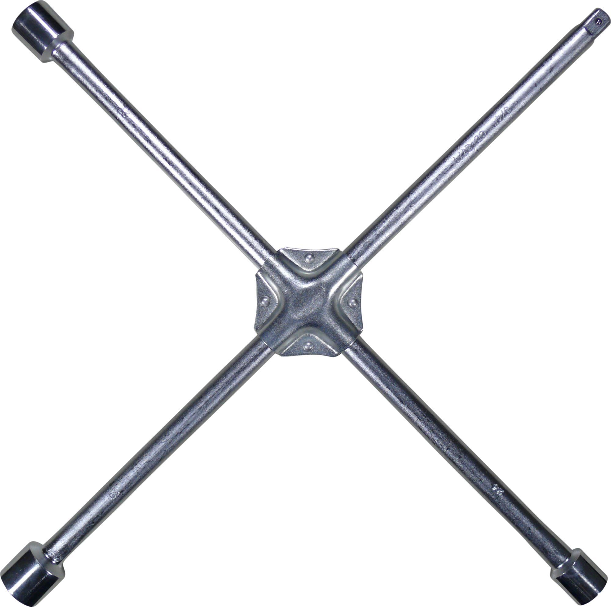 """LKW-Krížový kľúč, 24x27x30 mm x 3/4""""-Aussenštvorhran"""