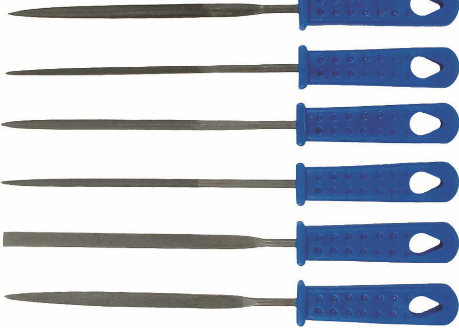 Sada pilníkov, 6-dielna., 100 mm