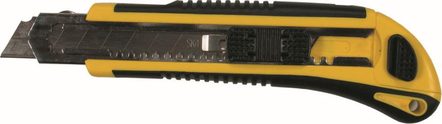 Univerzálny nôž 2K-Griff 18 mm, so zásobníkom a 5 nožmi