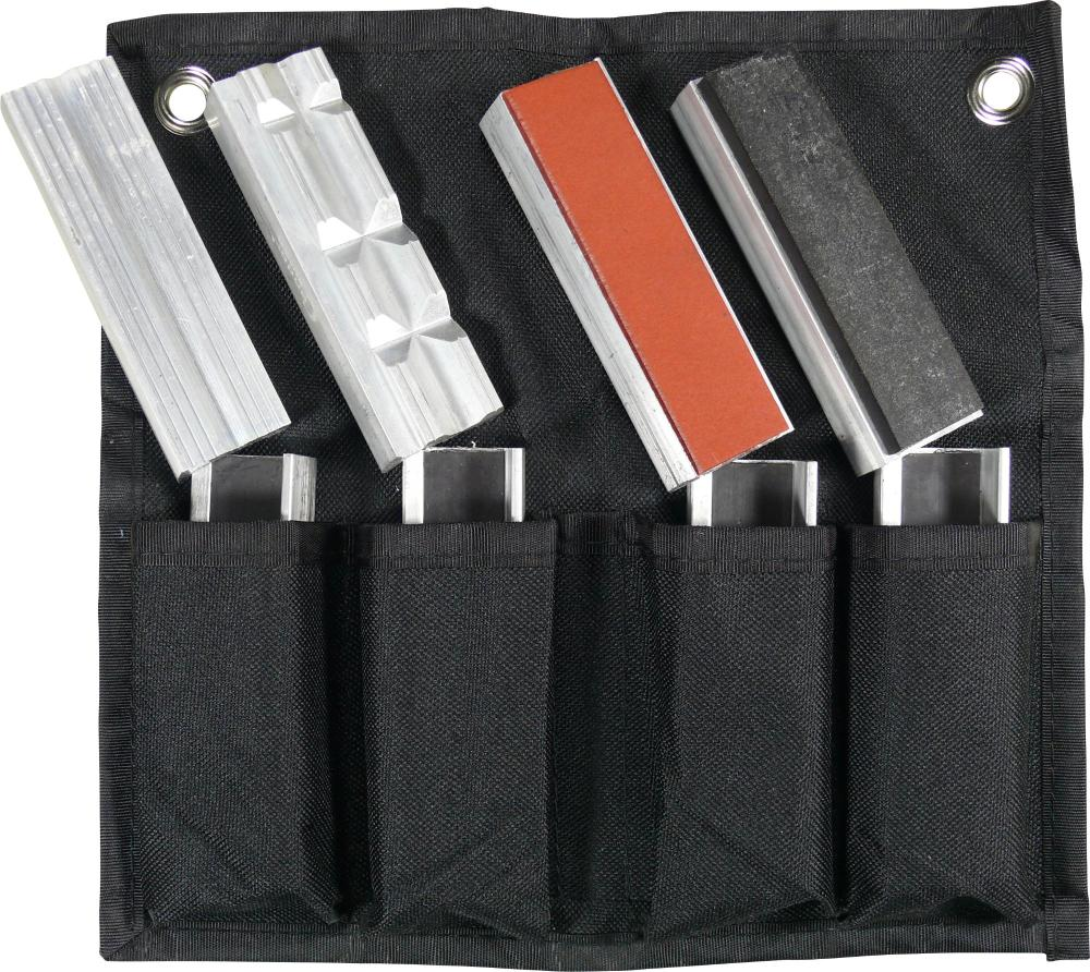 Vložky do zveráku, magnetické, 8-dielna., 100 mm
