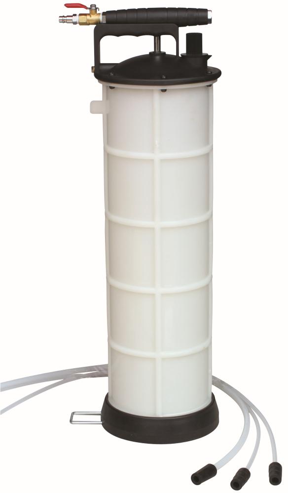 Odsávacia pumpa ručná páka + pneumatická prípojka, 7.3 l