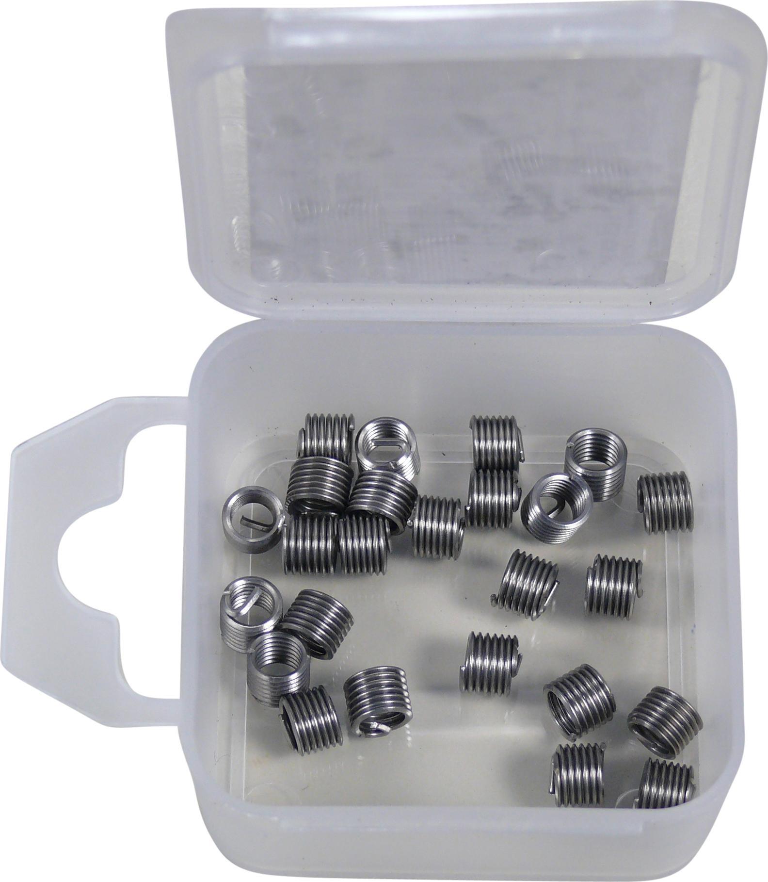 Závitové vložky , 25 ks, M5x0.8