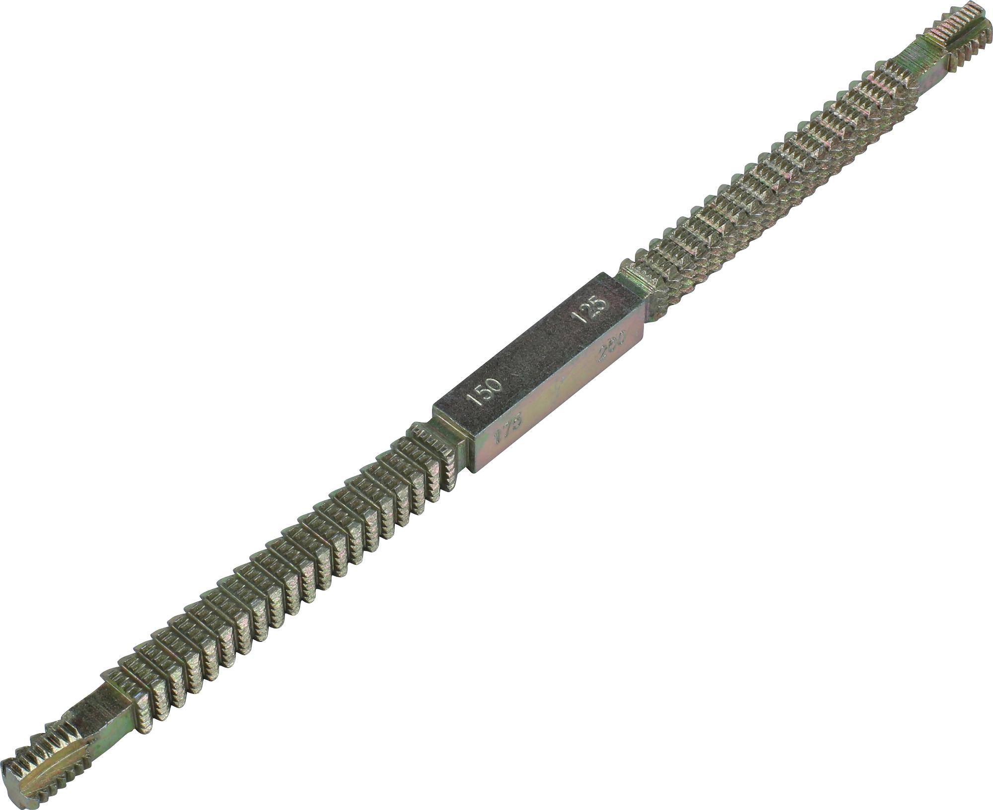 Pilník na závity, 230 mm, metrika 0.80-3.00