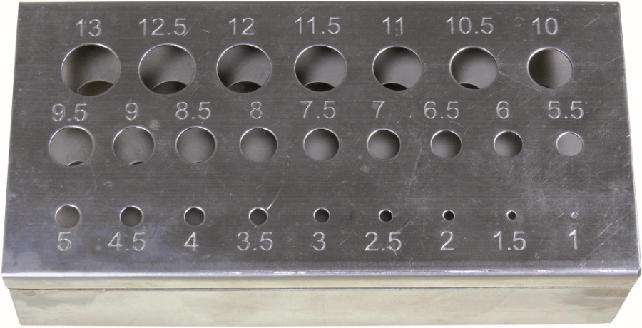 Držiak na vrtáky, pre veľkosť 1-13 mm