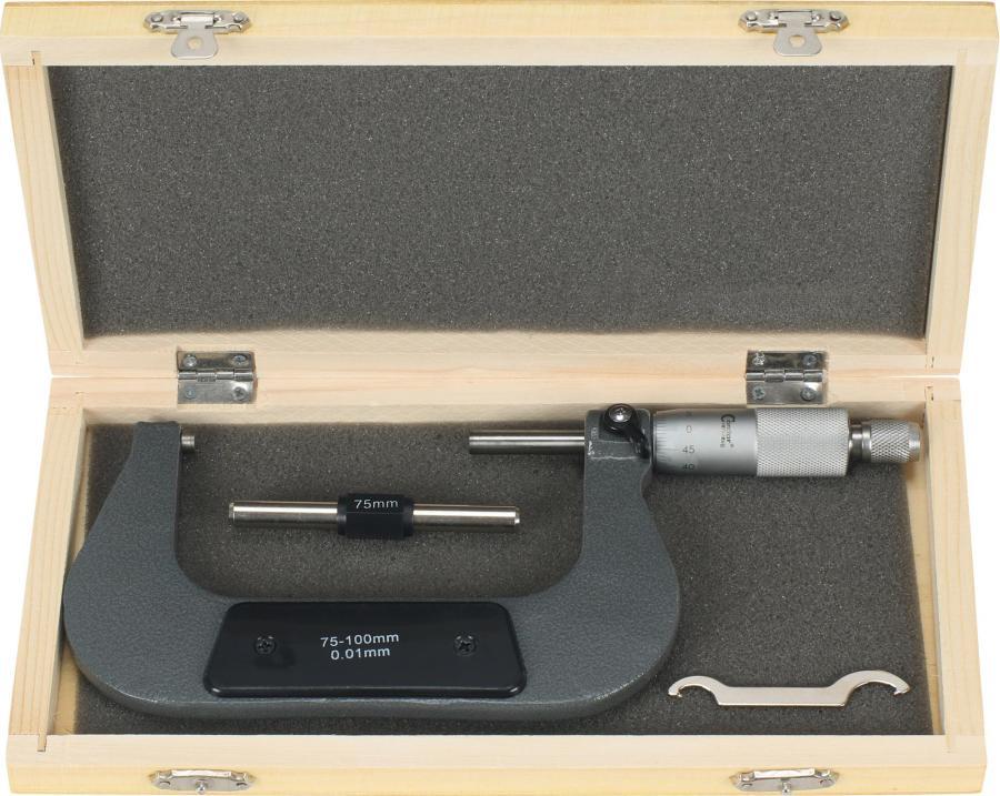 Mikrometer, 1/100 mm, 76-100 mm