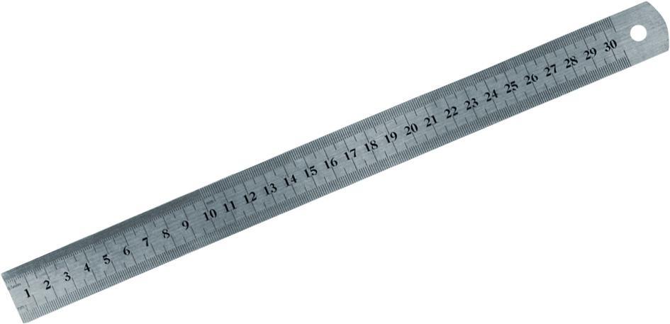 """Pravítko kovové, 300 mm / 12"""""""