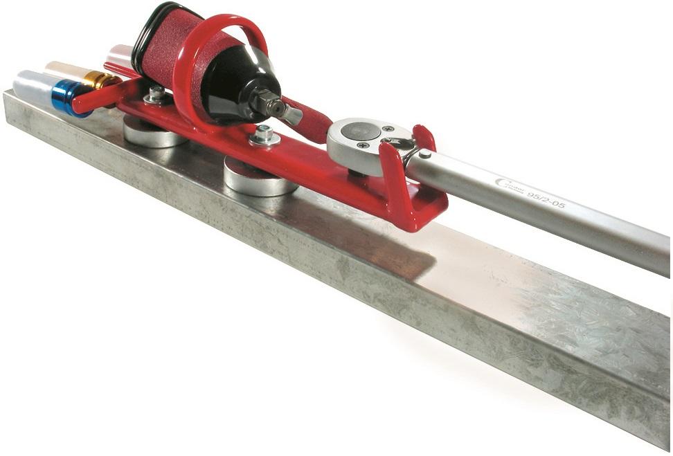 Magnetický držiak pre rázové uťahovače , 2 magnet, do 25 kg