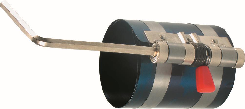 Napínací pás pre nasadenie pieksa , 57-125 mm, 80 mm vysoké