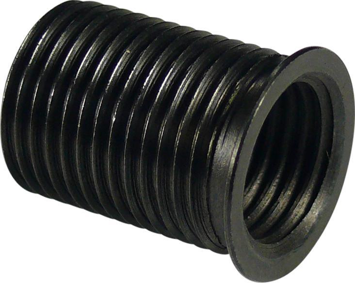 Závitové vložky M12, 19 mm dlhá, zu Nr. 5674, 10 ks.