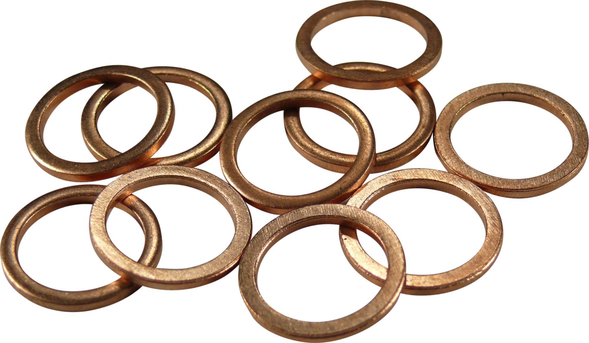 Medený tesniaci krúžok , M13, pre Nr. 5368 u. 5369/13, 10 ks