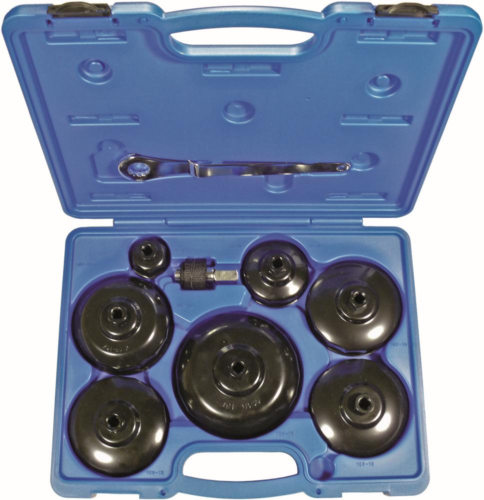 Prípravok pre viečko olejového filtra-sada, 9-dielna.