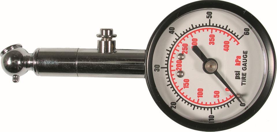 Tlakomer kovový, 0-4.15 bar