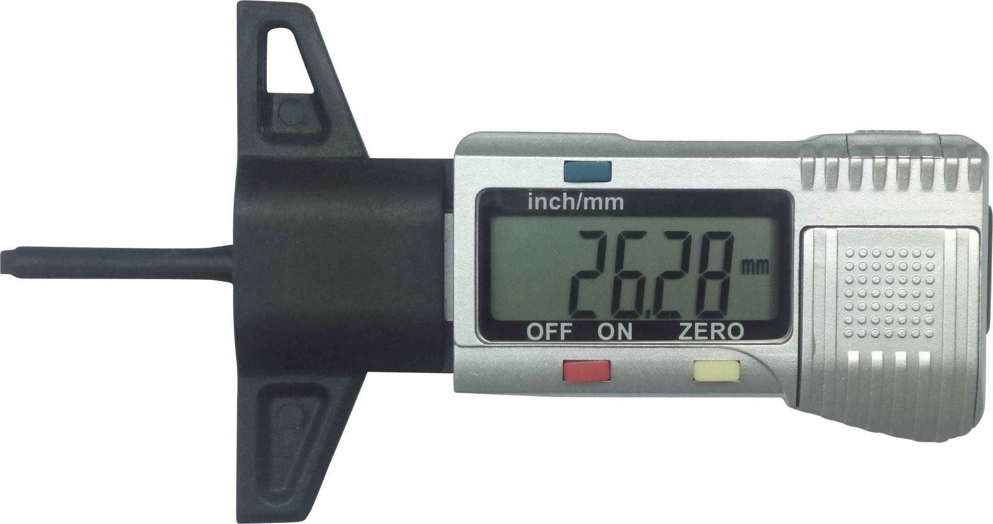 Digitálny merač profilov, 0-25 mm
