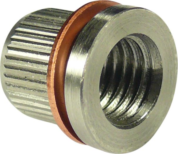 Puzdro z nerezovej ocele s medeným krúžkom, 10 ks., pre Nr. 5361 , 9x1,25