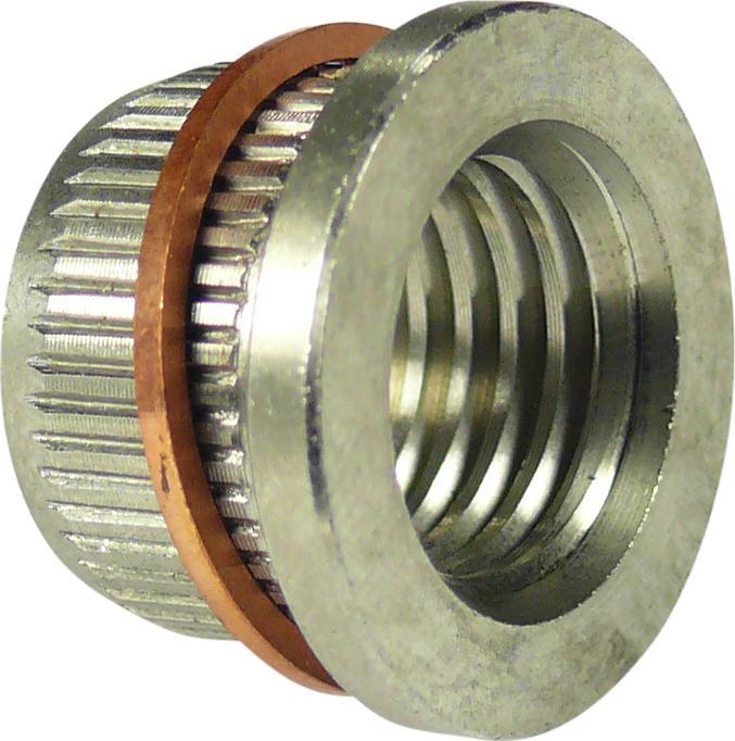 Puzdro z nerezovej ocele s medeným krúžkom, 10 ks., pre Nr. 5364