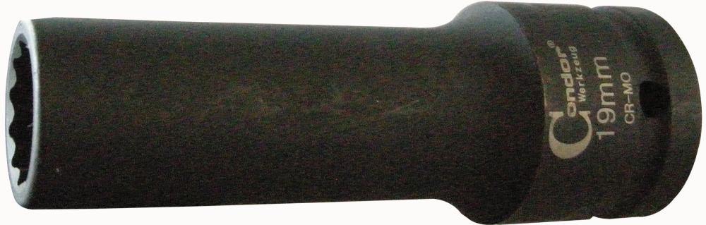 """Nástavec kovaný, 3/4"""", 12-hran 19 mm"""