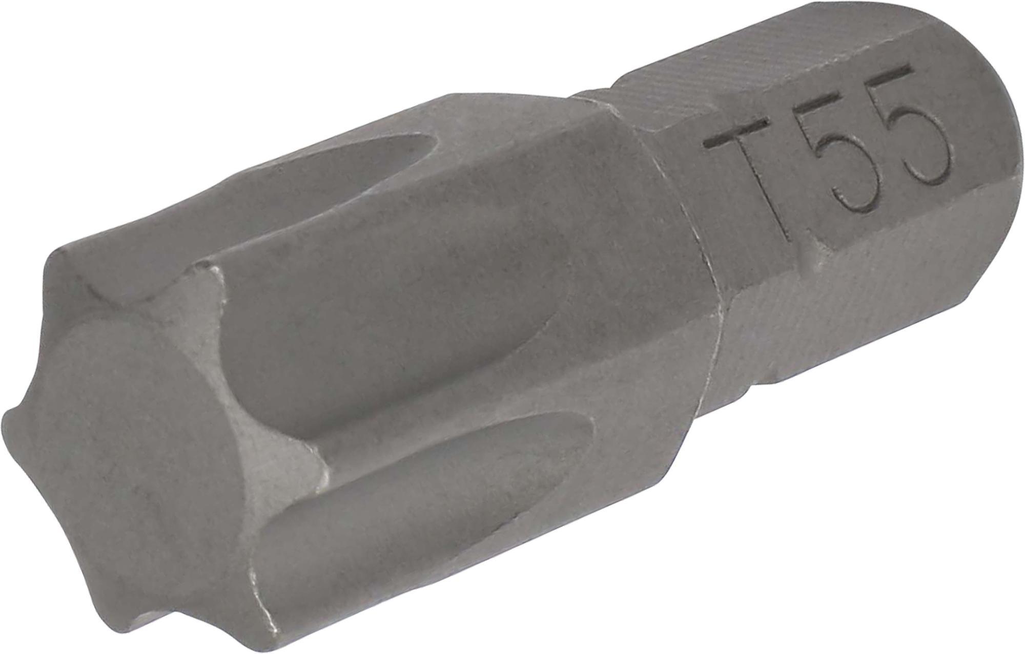 Bit, 8 mm 6-hran, TORX T55x30 mm