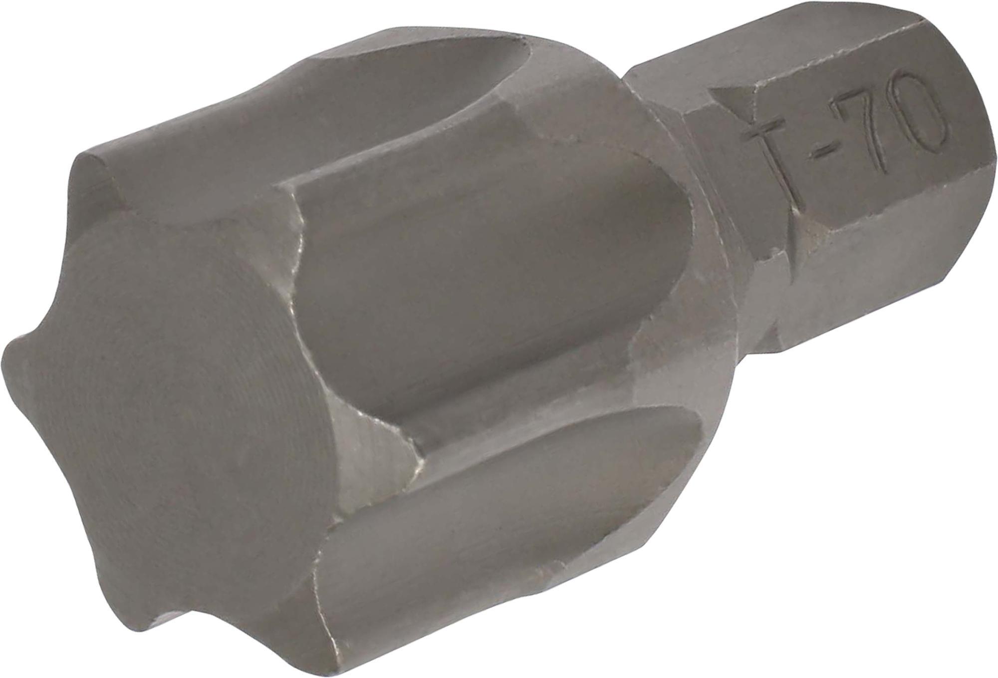 Bit, 8 mm 6-hran, TORX T70x30 mm