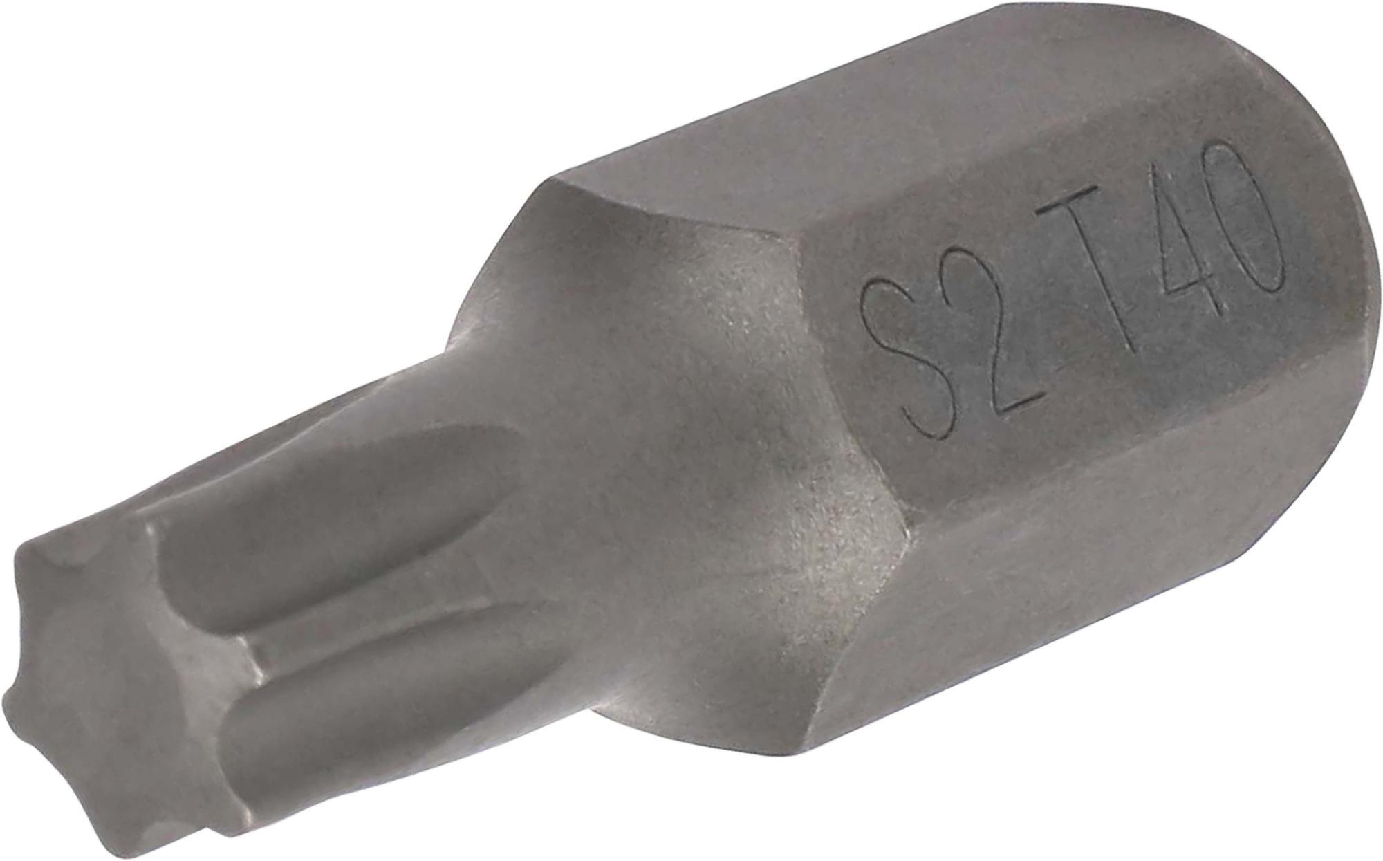 Bit, 10 mm 6-hran, TORX T40x30 mm