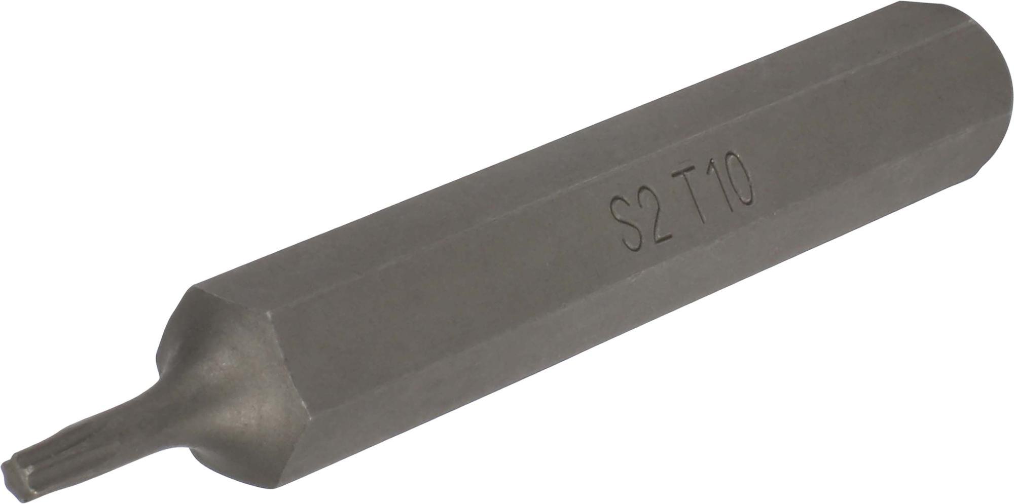 Bit, 10 mm 6-hran, TORX T10x75 mm