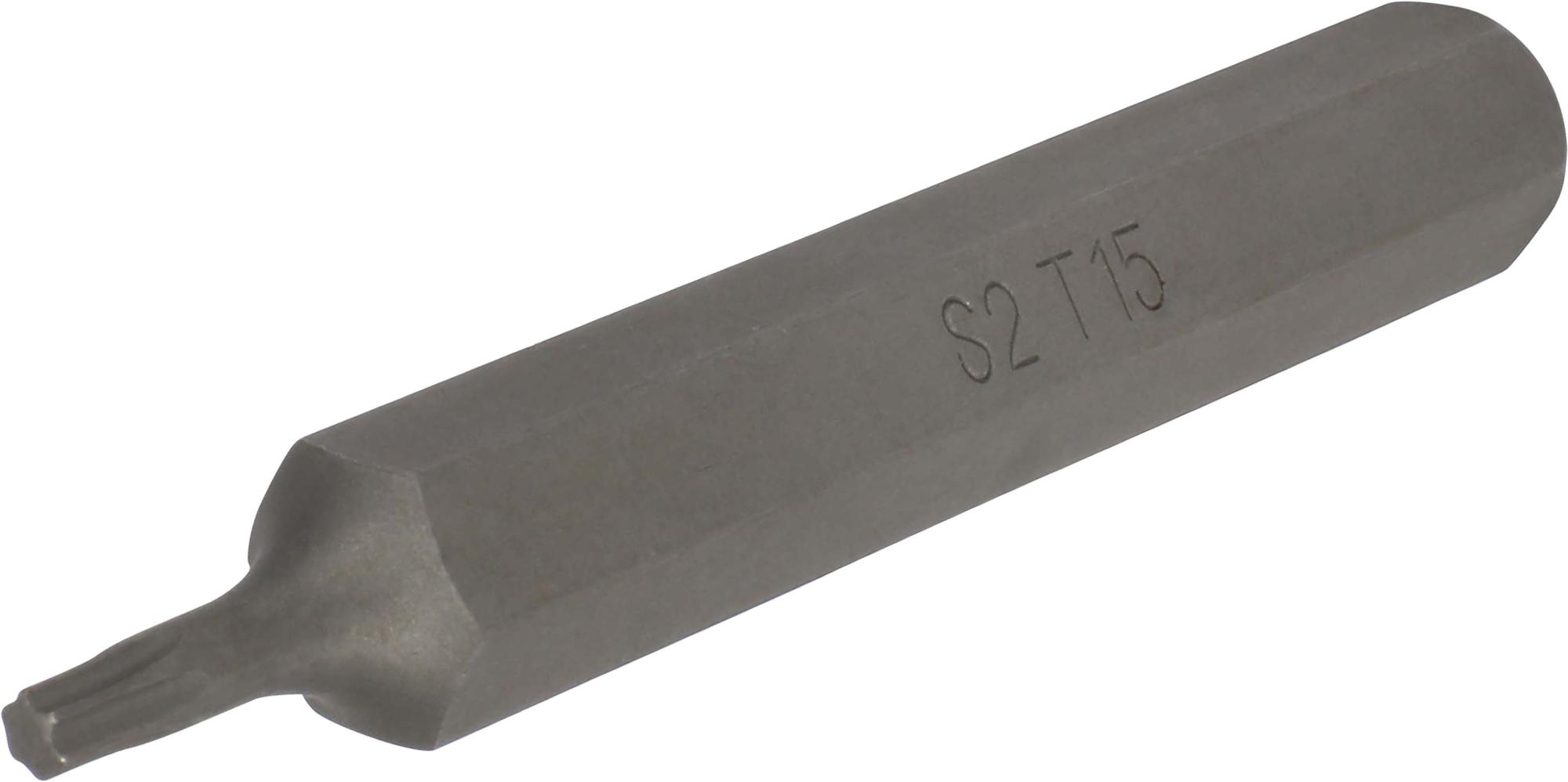 Bit, 10 mm 6-hran, TORX T15x75 mm