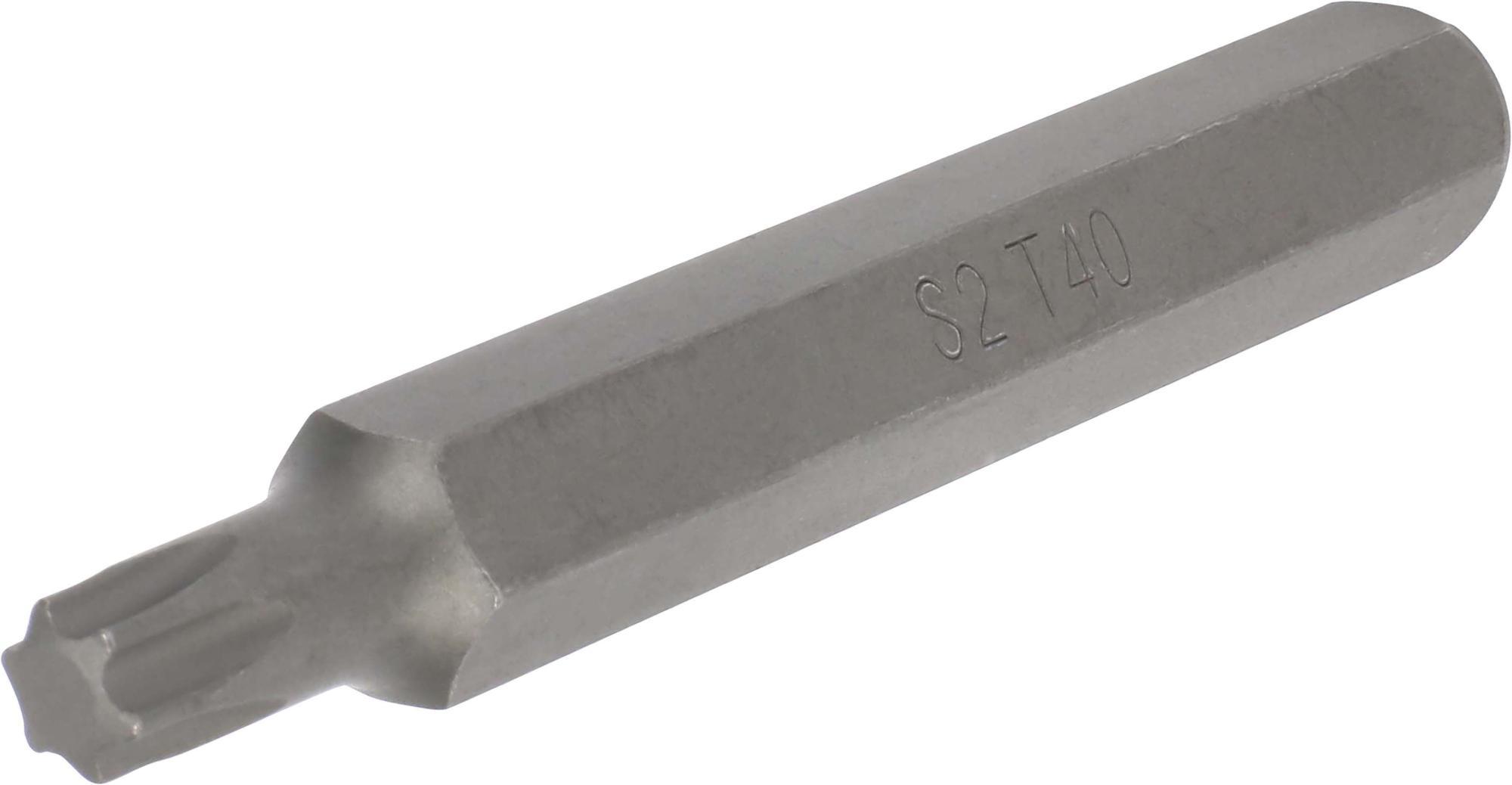 Bit, 10 mm 6-hran, TORX T40x75 mm