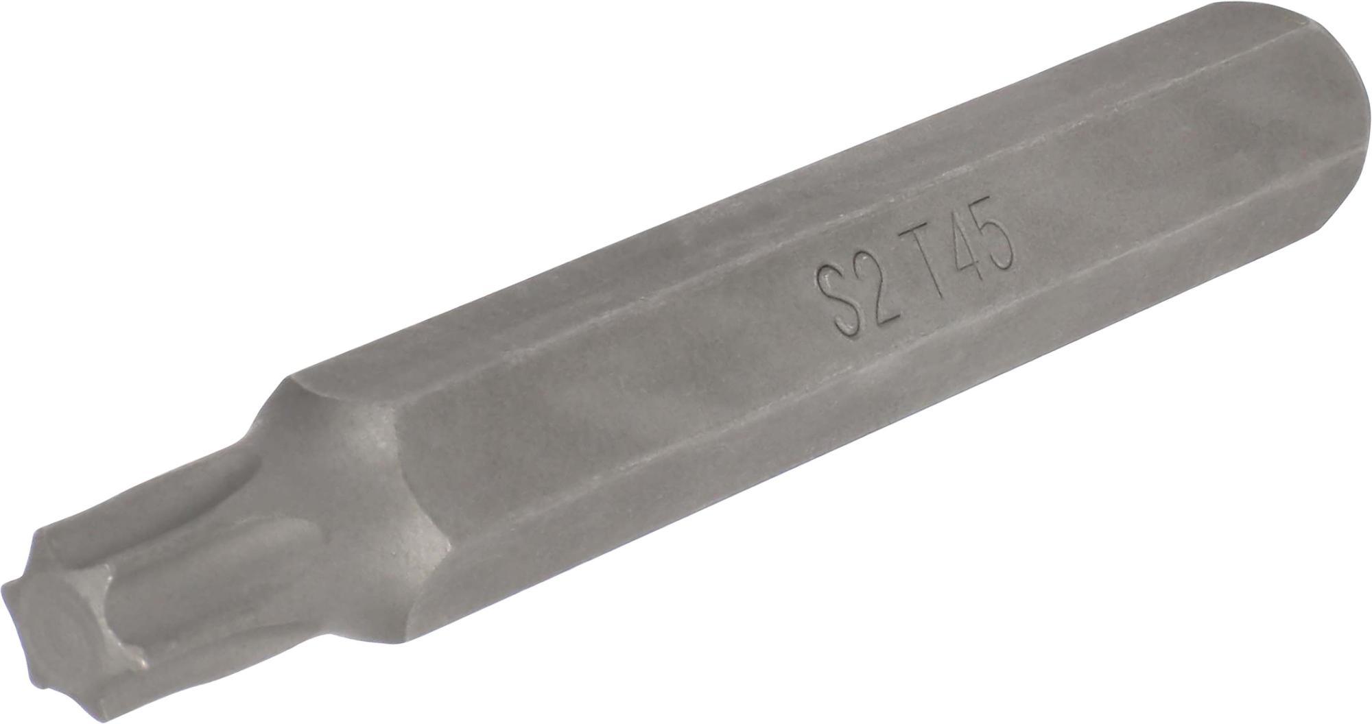 Bit, 10 mm 6-hran, TORX T45x75 mm