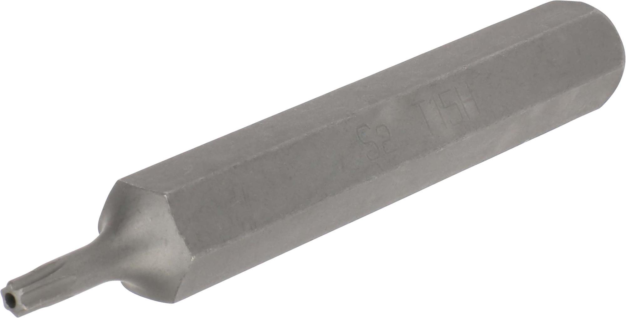 Bit, 10 mm 6-hran, TORX SLB T15x75 mm