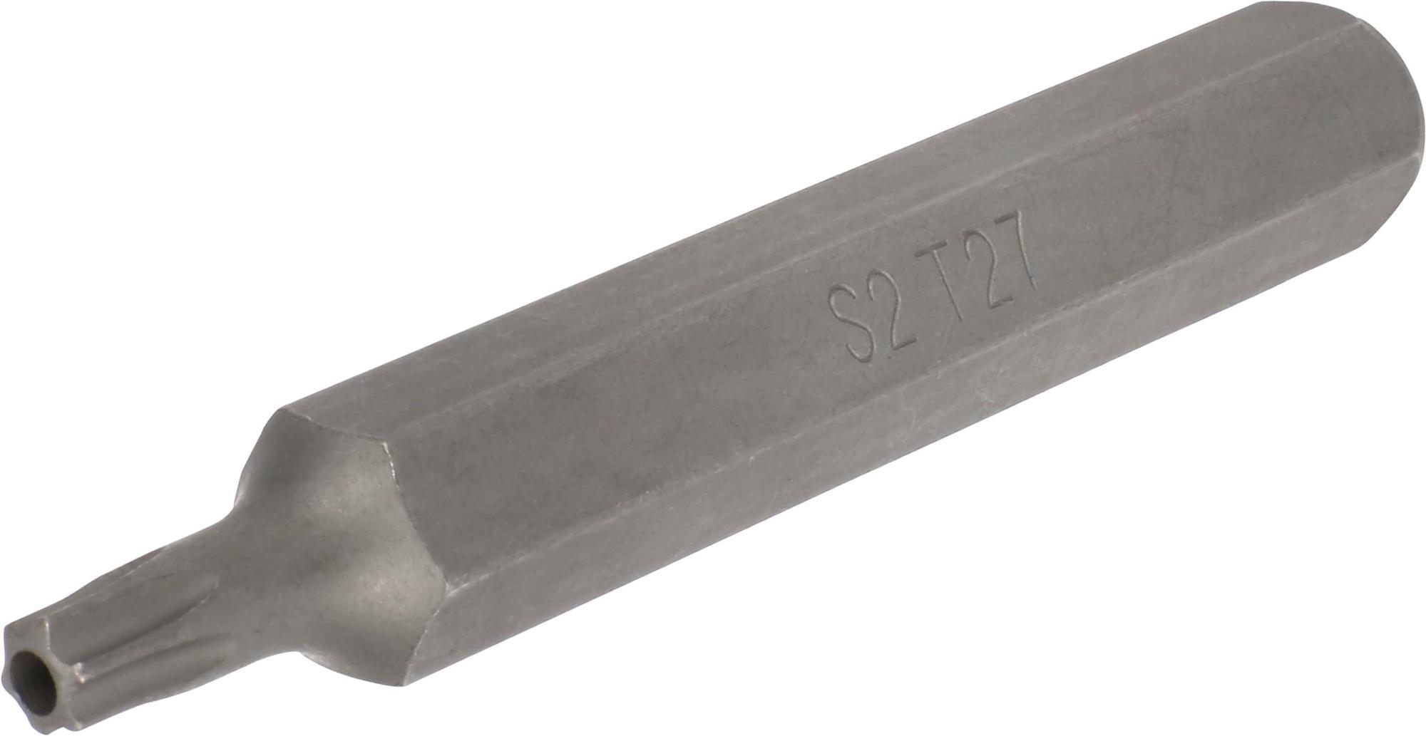 Bit, 10 mm 6-hran, TORX SLB T27x75 mm