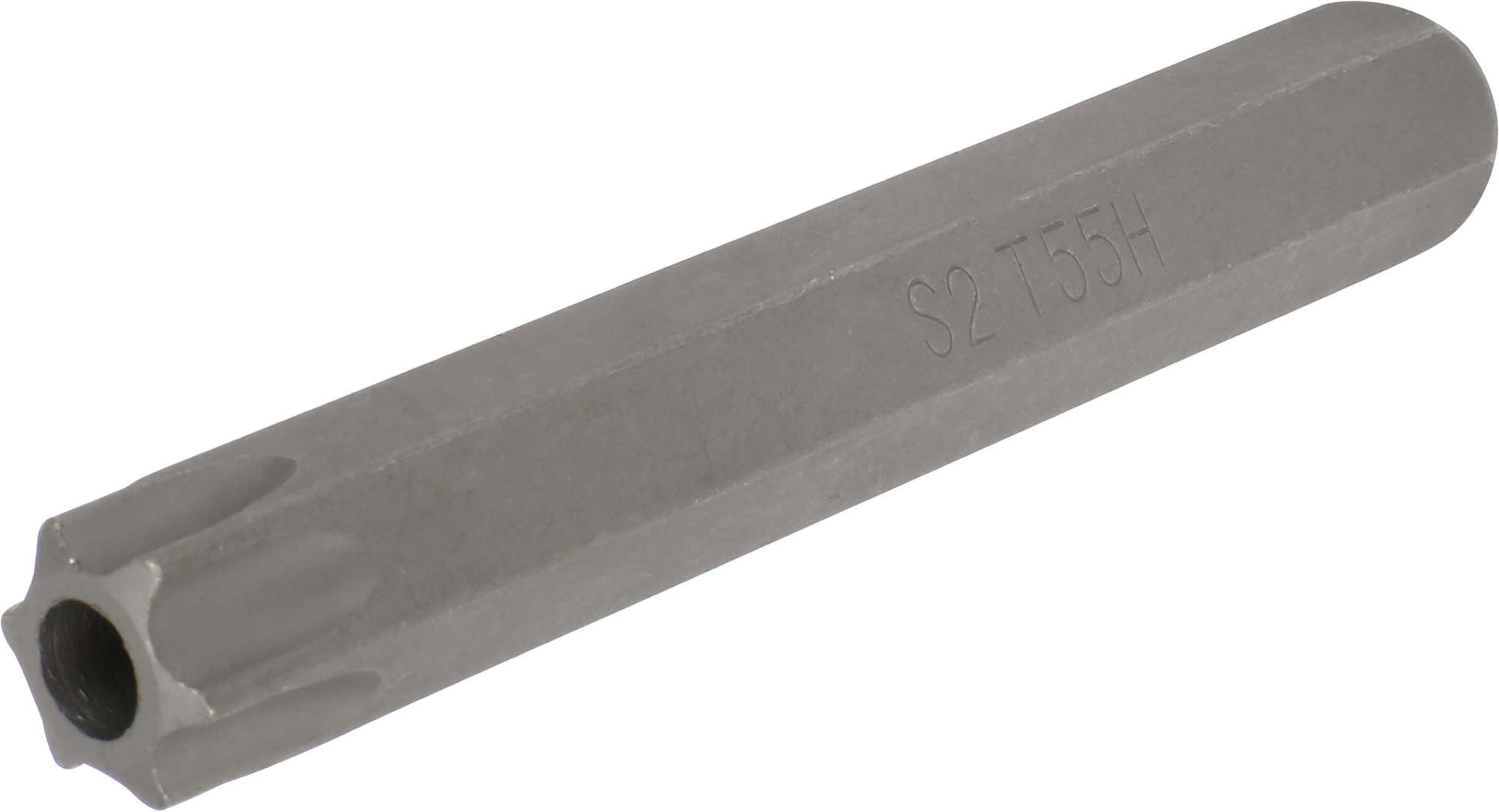Bit, 10 mm 6-hran, TORX SLB T55x75 mm