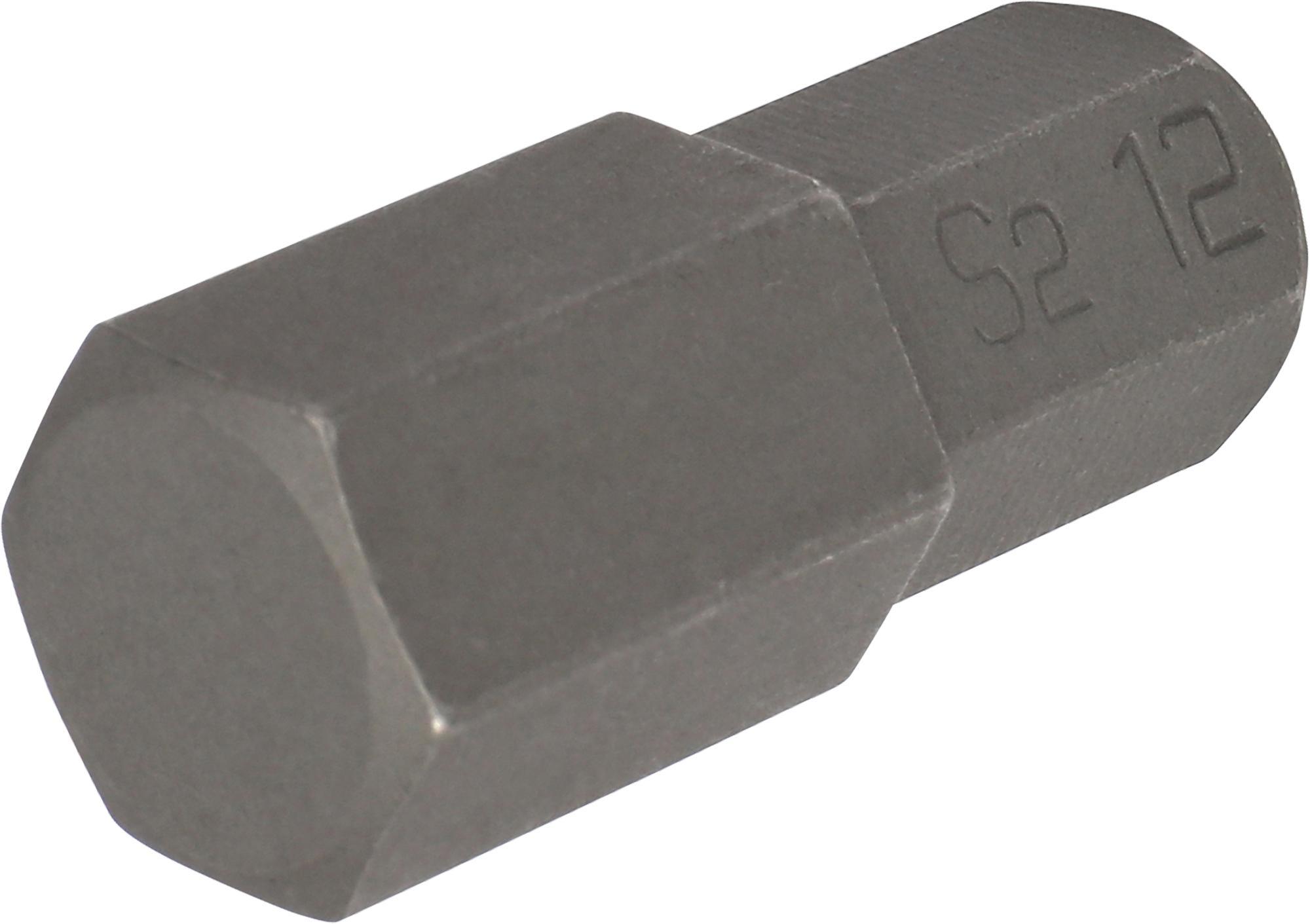 Bit, 10 mm 6-hran, IMBUS 12x30 mm