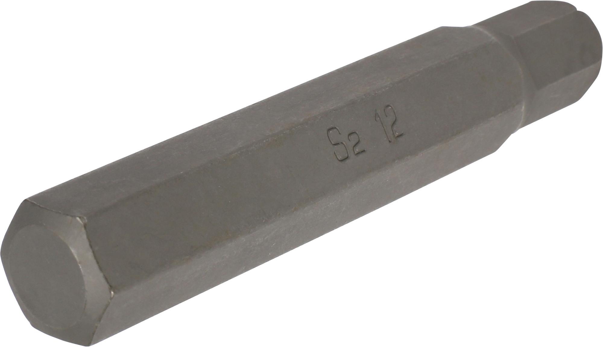 Bit, 10 mm 6-hran, IMBUS 12x75 mm