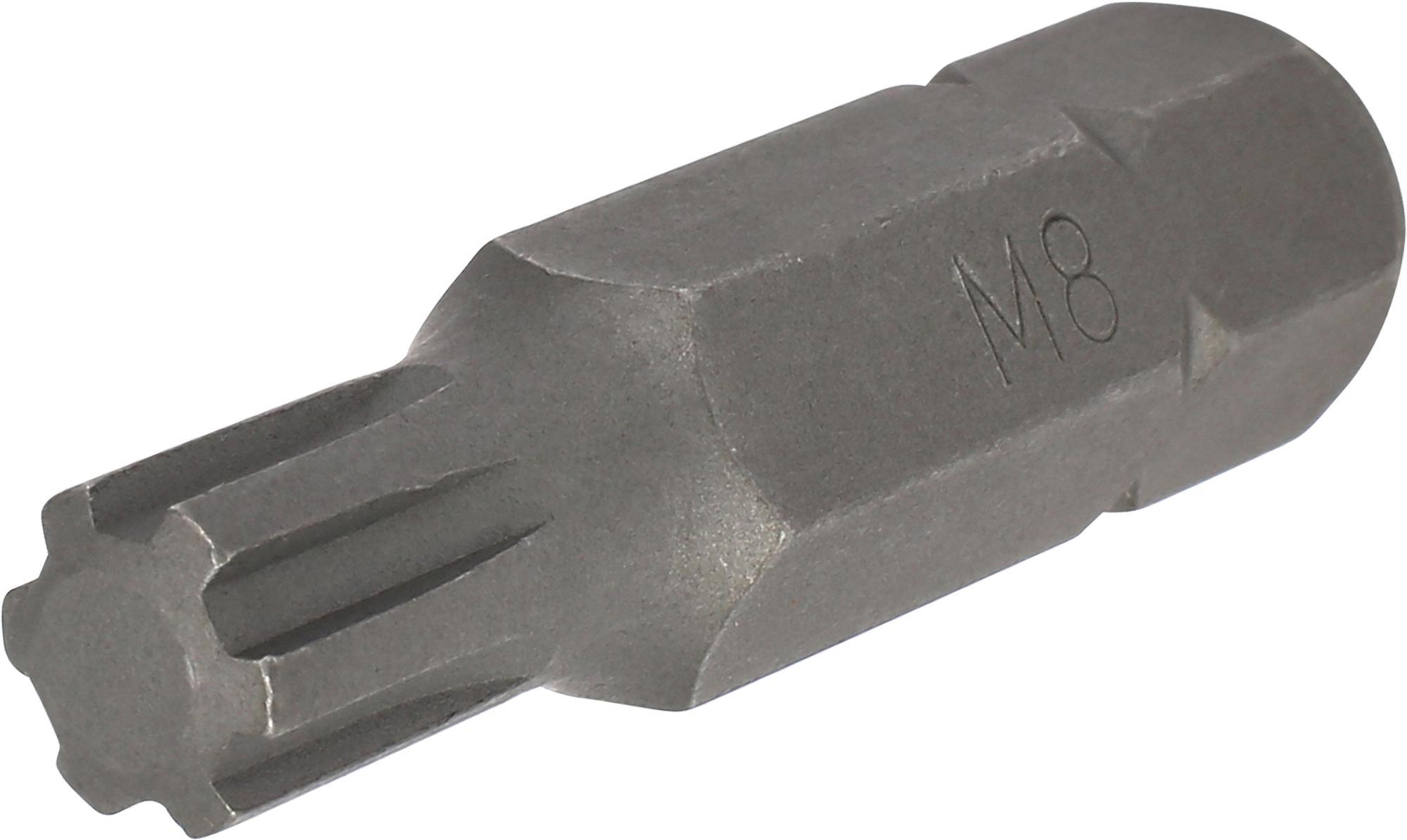 Bit, 10 mm 6-hran, Keilnut M8x40 mm