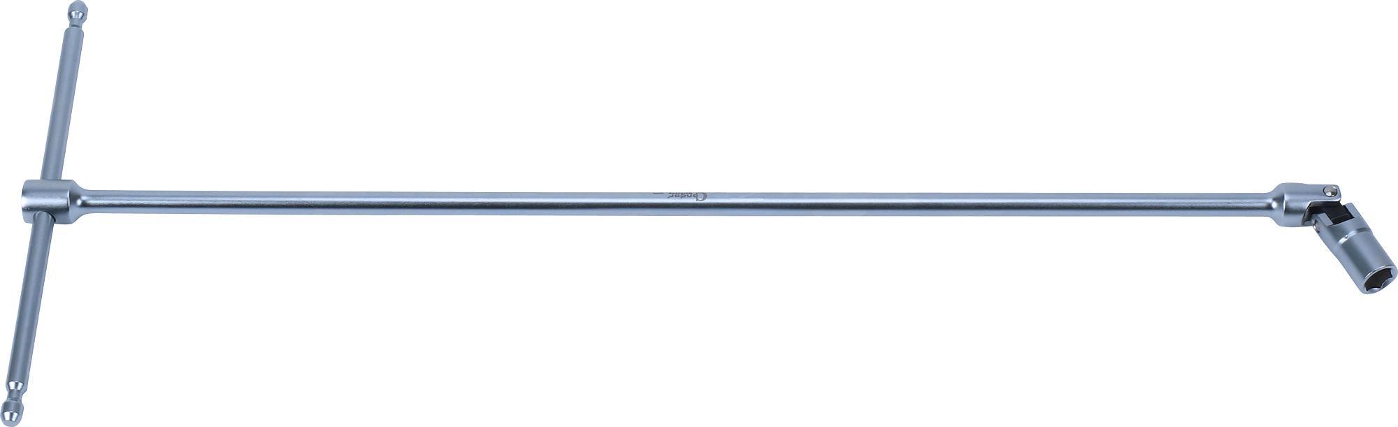"""Kľúč """"T"""" s kĺbom, 395 mm, 6-hran 8 mm"""