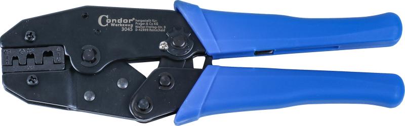 Ratchet Crimping Pliers, non-insul. terminals 0.5-6 mm²