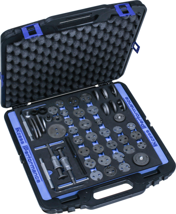 Brake Caliper Wind Back Tool Kit, 53 pcs.