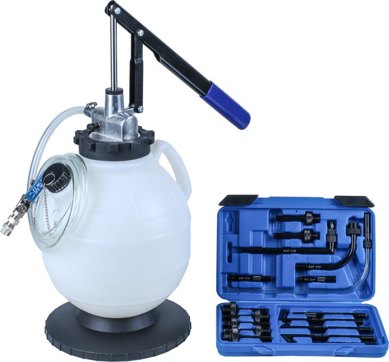 Pumpa na olej, 7.5l, 13 Adapter