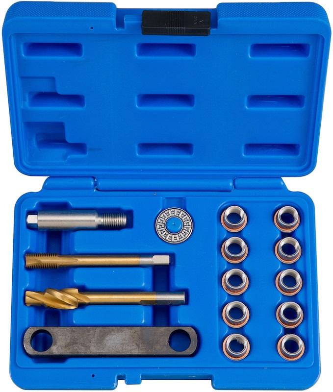 Sada - Opravu závitov pre brzdový strmeň vodiace skrutky, M12x1.5