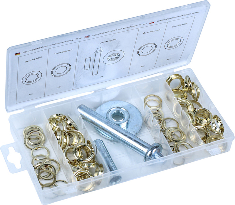 Grommet Installation Set, 103 pcs.